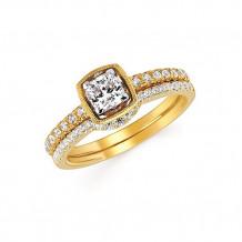Ostbye 14k White Gold Engagement Ring